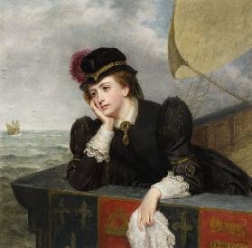 Mary Stuart returning from France