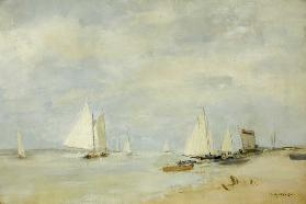 Yachts in the Cutting