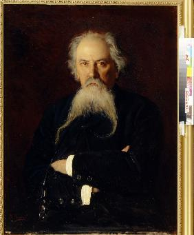 Portrait of the poet Alexey Zhemchuzhnikov (1821-1908)
