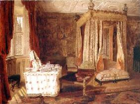 Interior of a Bedroom at Knole, Kent